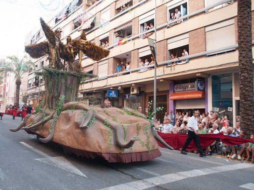 Carroza Arbol Mandragora con movimiento