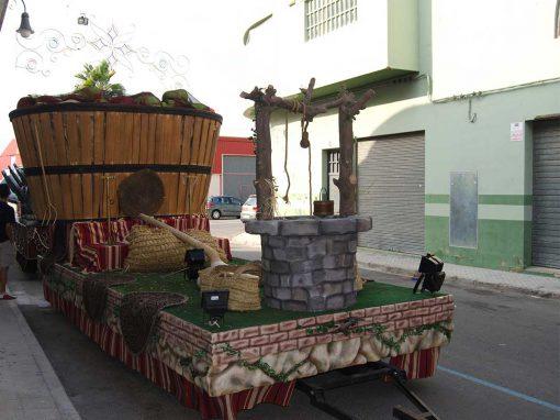 Carroza Maseros Manzanas
