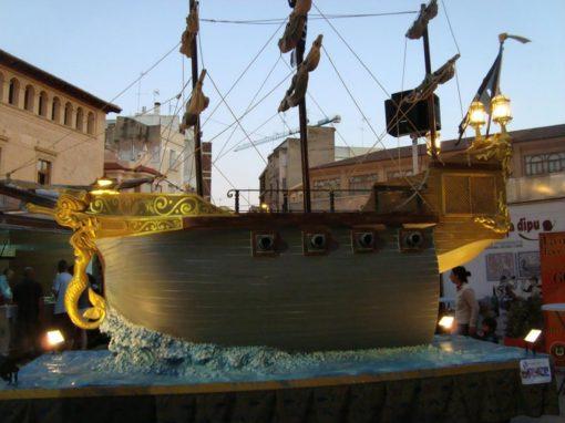 Carroza 22 Barco Pequeño