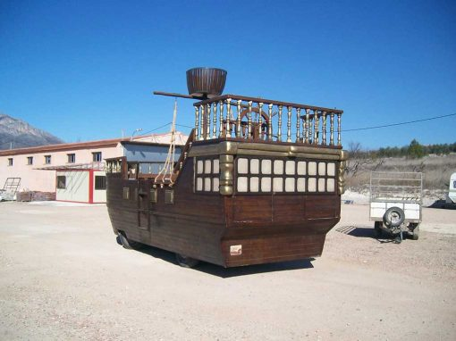 Carroza 47 Barco Grande