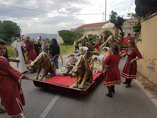 Carroza Plataforma con Panteras