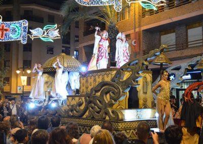 Carroza Favorita cabezas elefantes y ballet Ópera