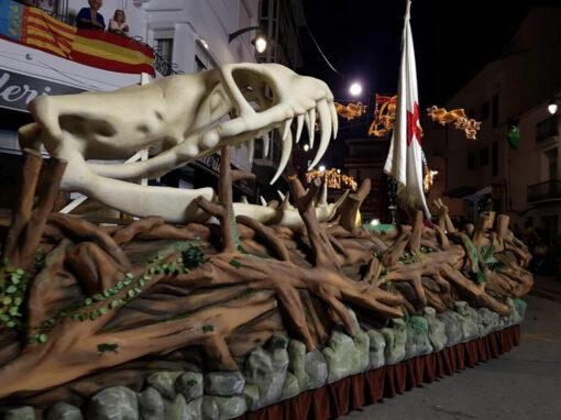 Carroza Esqueleto Cráneo
