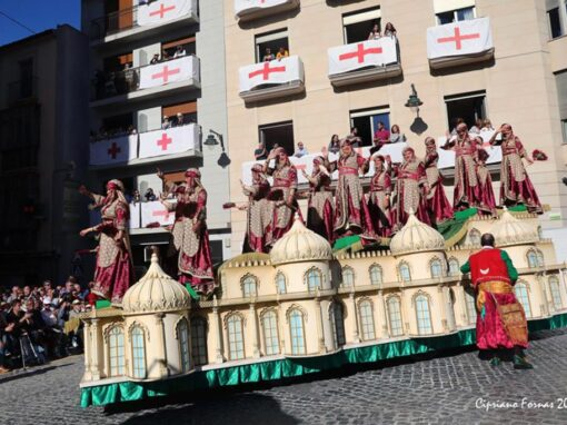 Carroza Favorita Magenta Alcoy 2019