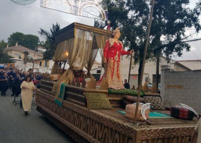 Carroza Palaquín Dorado