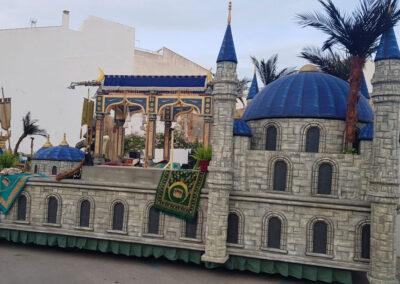 Carroza palacio azul sofía