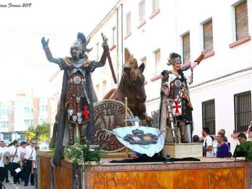 Carroza Caballos Templarios
