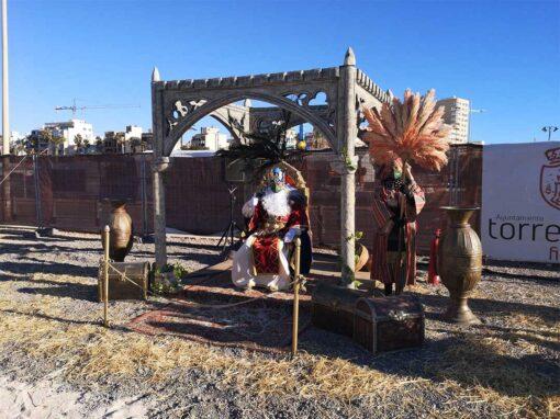 Campamento lleguada de reyes magos Torrevieja